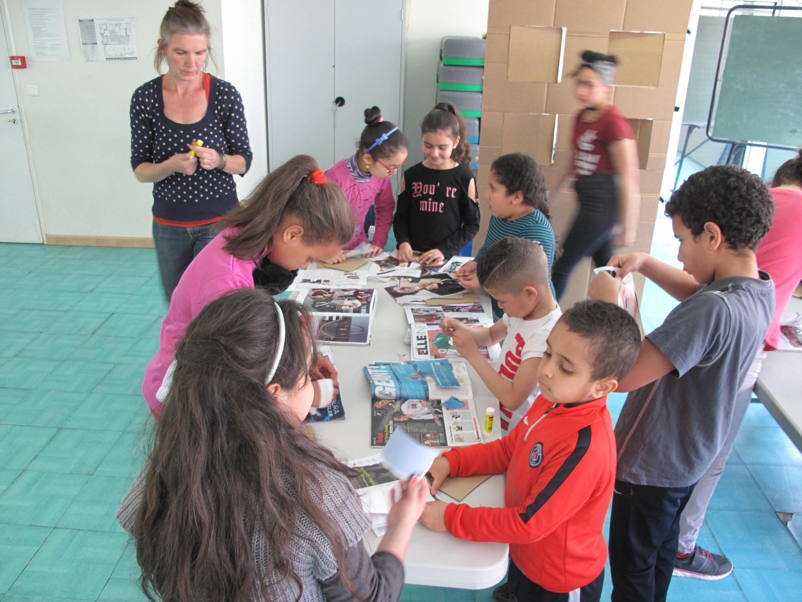 Atelier parents enfants autour de Riposte avec Le Petit Atelier