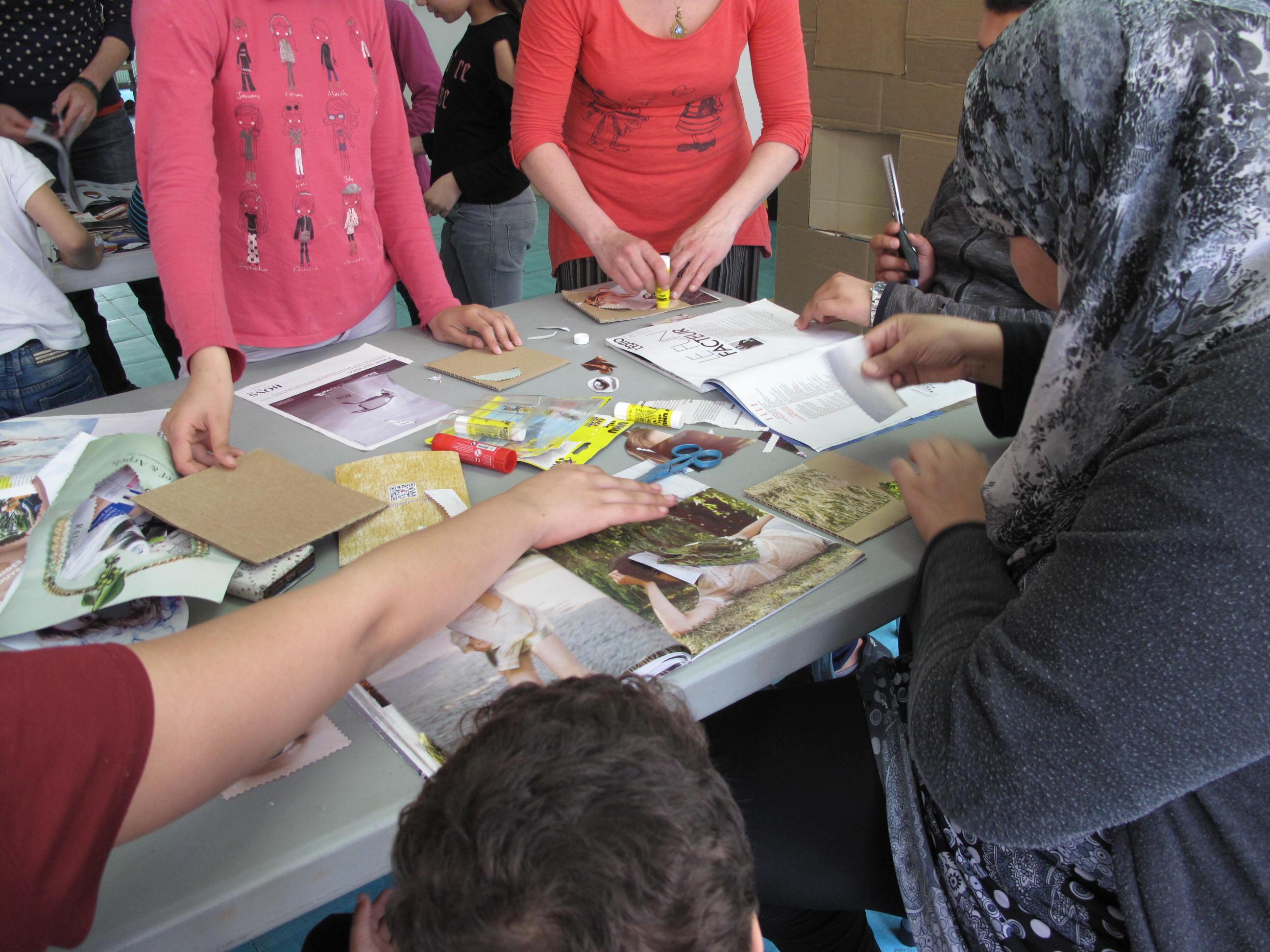 Atelier parents-enfants autour de Riposte avec Le Petit Atelier