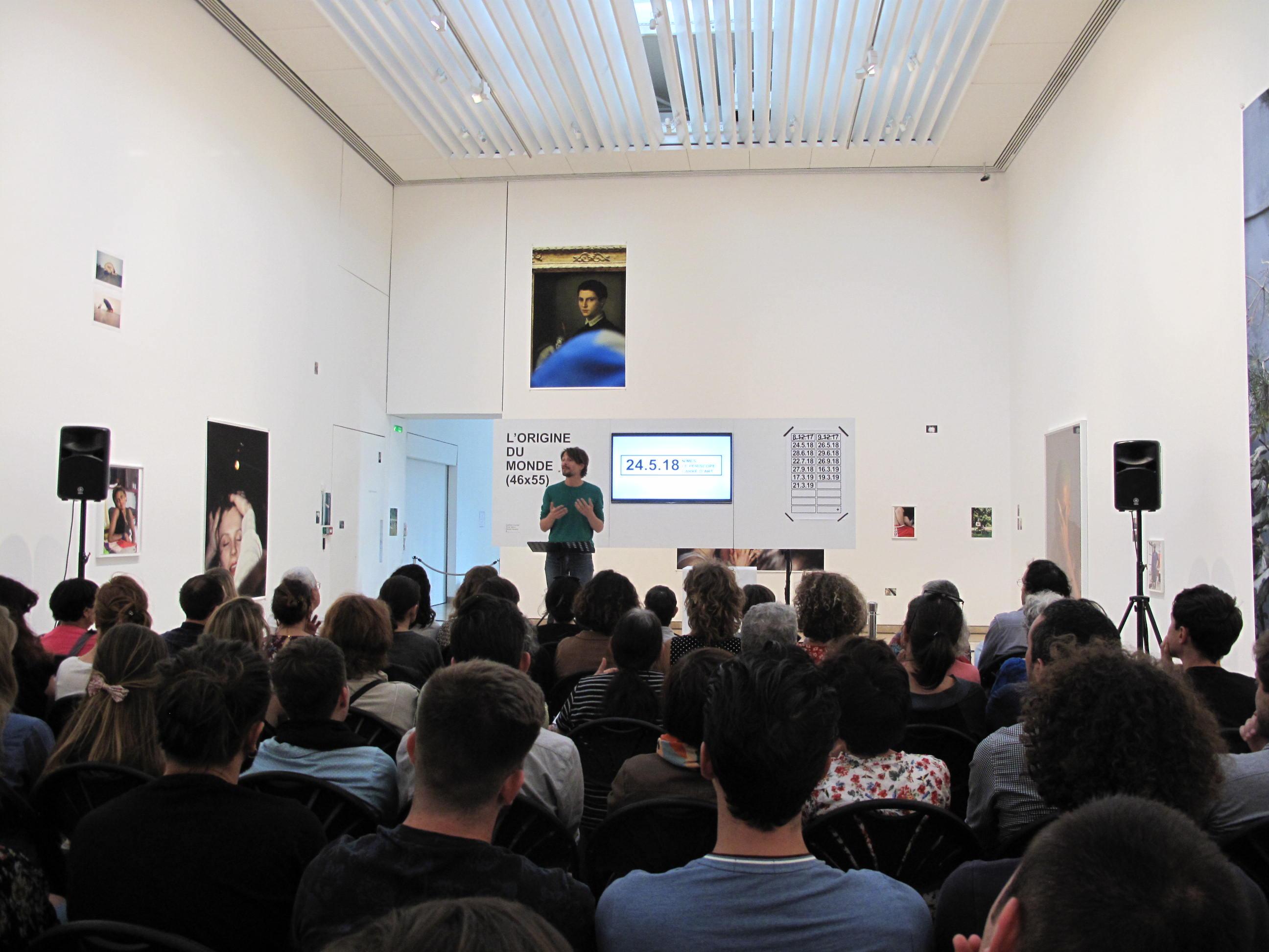 L'Origine du Monde de la cie La Vaste Entreprise à Carré d'Art Musée