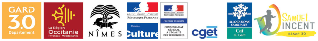 barre des logos subventions